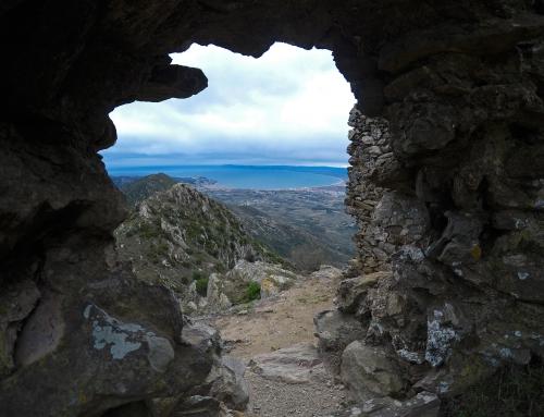 Castell de Verdera, un espectacular mirador de l'Alt Empordà